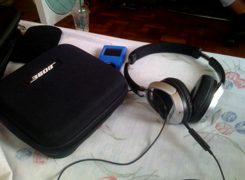 The Bose Triport OE's